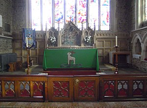 Church of St Andrew, Biggleswade - The East Altar