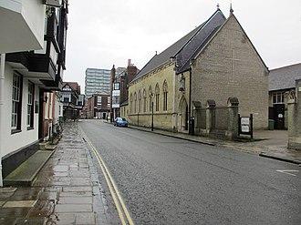 St. Joseph's Church, Southampton - Image: St Joseph's Catholic Church, Bugle Street