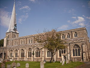 Hadleigh, Suffolk - The Anglican church of St Mary the Virgin