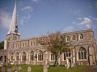 St Mary, Hadleigh Church in Suffolk, England