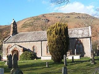 St Marys Church, Whicham Church in Cumbria, England
