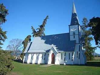 St Michael's Church, Waimea West - Image: St Michael's, Waimea West
