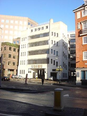 Harry Stuart Goodhart-Rendel - St Olaf House, Tooley Street, London