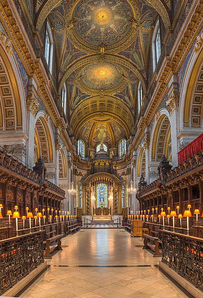 fichier st paul u0026 39 s cathedral choir looking east  london  uk