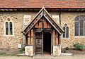 St Peter, Great Totham - Porch (geograph 3698041).jpg