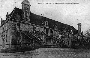 François Blondel - Image: Stables of the Château de Chaumont la Guiche notrefamille(dot)com