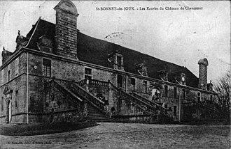 François Blondel - The grand stables at the Château de Chaumont-la-Guiche