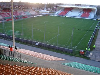 French football bribery scandal - Stade Nungesser in Valenciennes was the venue for the bribed match.