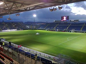 Cagliari Calcio - Cagliari spent the 2012–13 season at the Stadio Is Arenas in Quartu Sant'Elena