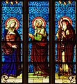 Stained glass window in Cathédrale Notre-Dame de Luxembourg.jpg