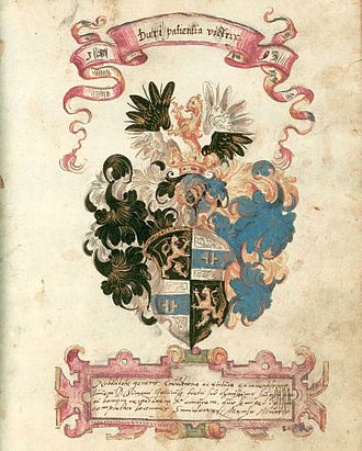 Autograph book - This page from the autograph book of Simon Haendel (compiled in the 1590s) features a personal greeting, written in Latin adde
