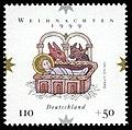 Stamp Germany 1999 MiNr2085 Weihnachten II.jpg