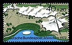 Stamps of Germany (BRD), Olympiade 1972, Ausgabe 1972, Block 1, 40 Pf.jpg