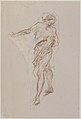 Standing Male Figure with Right Arm Extended (recto); Seated Male Figure (verso) MET 1970.101.3 RECTO.jpg