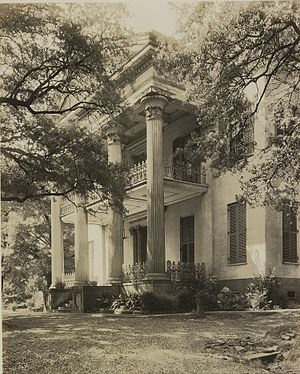 Stanton Hall - Stanton Hall, by Frances Benjamin Johnston, 1938