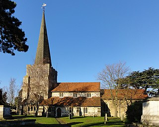 Stanwell village in United Kingdom