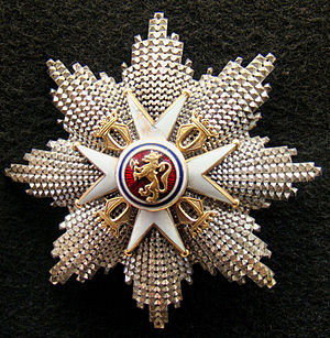 Order of St. Olav - The Star of The Order of Saint Olav