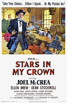 Description de l'image Stars in My Crown (1949 poster).jpg.