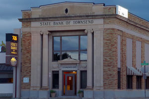 State Bank of Townsend - Image: State Bank of Townsend (2013) Broadwater County, Montana