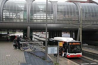 Leidschenveen RandstadRail station - Image: Station Leidschenveen met bus