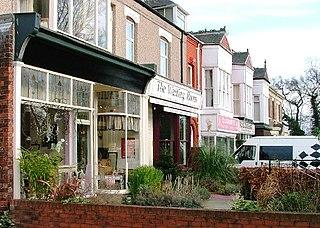 Eaglescliffe Village in England