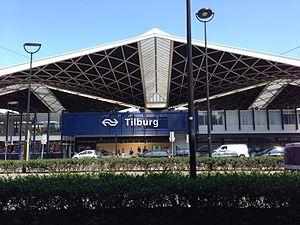 Tilburg railway station - Image: Station Tilburg 2013