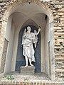 Statua di San Michele - Palazzo Prati, Forlì.jpg