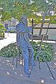 Statue de Charles Meryon à Akaroa, Nouvelle Zélande (Ile du Sud).jpg