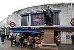 Statue of Edward VII outside Tooting Broadway Underground Station - geograph.org.uk - 1019794.jpg