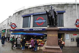 Tooting Broadway tube station London Underground station
