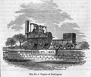 Locomotion No. 1 - Image: Stephenson No.1 engine