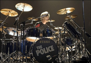 Stewart Copeland American musician; drummer of The Police