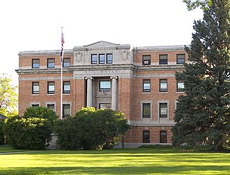 Stillwater County, Montana - Image: Stillwater county courthouse