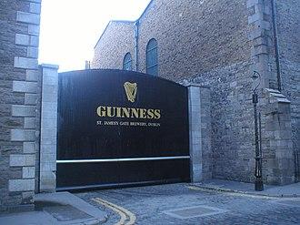 Guinness - Crane Street Gate