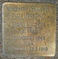 Stolperstein Grindelhof 30 (Joseph Carlebach) in Hamburg-Rotherbaum.JPG