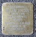 Stolperstein Kantstr 30 (Charl) Ellen Jordan.jpg