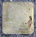 Stolperstein Kantstr 30 (Charl) Margarete Lichtwitz.jpg