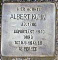 Stolperstein Karlsruhe Albert Kuhn.jpg