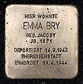 Stolperstein Rodelbergweg 12 (Baums) Emma Bry.jpg
