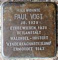 Stolpersteine Krefeld, Paul Vogt (Hohenzollernstraße 2).jpg