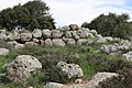 Stone wall at Khirbet Jurish (Judaea).jpg