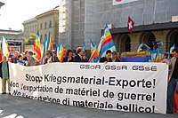 Stop Kriegsmaterial-Exporte GSoA, Einreichung Initiative.jpg