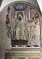 Storie di s. benedetto, 00 sodoma - benedetto che dà la regola ai fondatori di monte oliveto 02.JPG