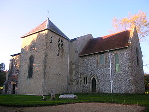 Stoughton, West Sussex - St. Mary's church