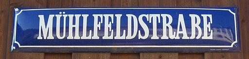 Straßenschild-Versal-ß