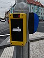 Strašnice, V Olšinách u Průběžné, přihlašovací zámek pro tramvaje.jpg