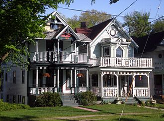 Lily Dale, New York - The dominant architectural style in Lily Dale dates from the 1800s