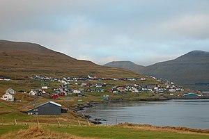 Strendur - Strendur at the Skálafjørður, Eysturoy, Faroe Islands