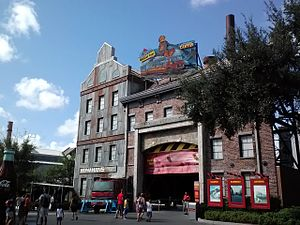 Studio Backlot Tour - Image: Studio Backlot Tour marquee and entrance