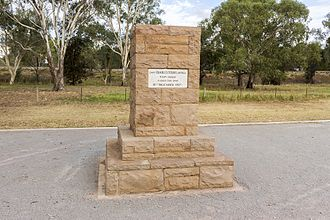 Narrandera - Charles Sturt memorial on the Murrumbidgee River